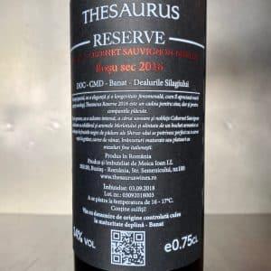Thesaurus Cupaj Reserve 2016