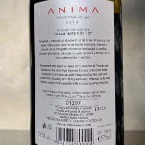 Aurelia Visinescu Anima Chardonnay